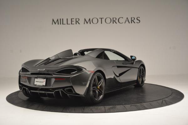 Used 2019 McLaren 570S Spider Convertible for sale Sold at Maserati of Westport in Westport CT 06880 7