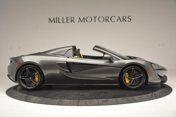 Used 2019 McLaren 570S Spider Convertible for sale Sold at Maserati of Westport in Westport CT 06880 9