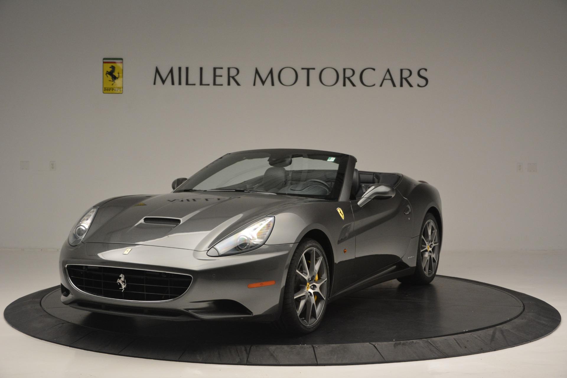 Used 2013 Ferrari California 30 for sale $109,900 at Maserati of Westport in Westport CT 06880 1