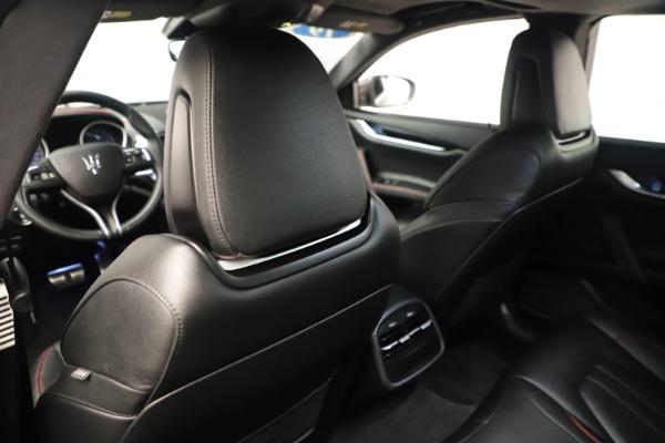 Used 2019 Maserati Ghibli S Q4 GranSport for sale $64,900 at Maserati of Westport in Westport CT 06880 20