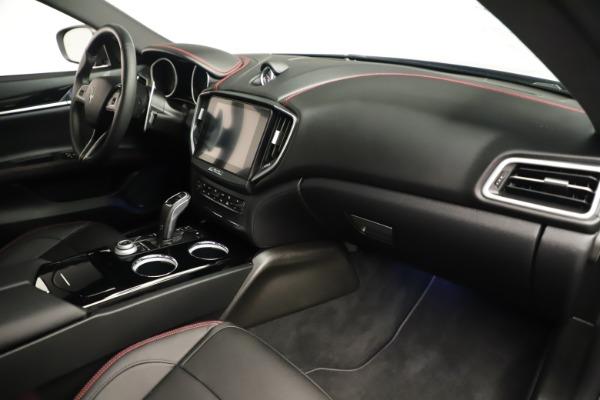 Used 2019 Maserati Ghibli S Q4 GranSport for sale $64,900 at Maserati of Westport in Westport CT 06880 22