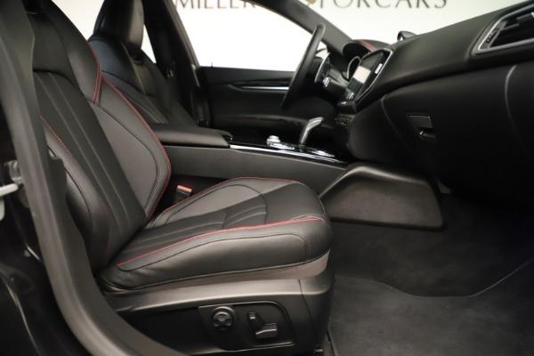 Used 2019 Maserati Ghibli S Q4 GranSport for sale $64,900 at Maserati of Westport in Westport CT 06880 23