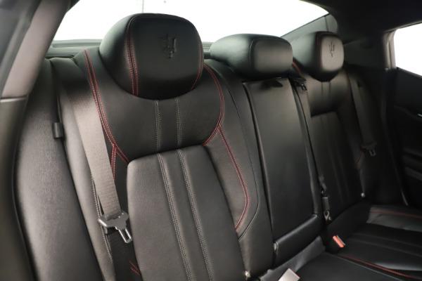 Used 2019 Maserati Ghibli S Q4 GranSport for sale $64,900 at Maserati of Westport in Westport CT 06880 26