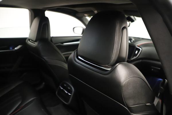 Used 2019 Maserati Ghibli S Q4 GranSport for sale $64,900 at Maserati of Westport in Westport CT 06880 28