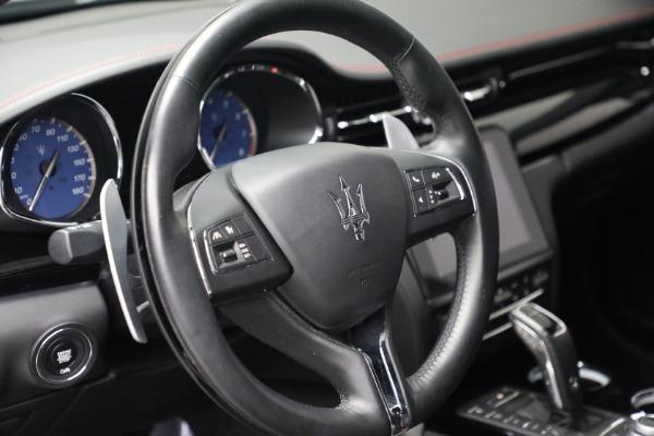 Used 2019 Maserati Quattroporte S Q4 GranLusso for sale $69,900 at Maserati of Westport in Westport CT 06880 17