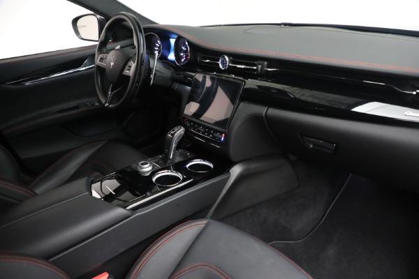 Used 2019 Maserati Quattroporte S Q4 GranLusso for sale $69,900 at Maserati of Westport in Westport CT 06880 26