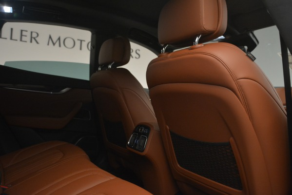 Used 2019 Maserati Levante Q4 GranLusso for sale Sold at Maserati of Westport in Westport CT 06880 23
