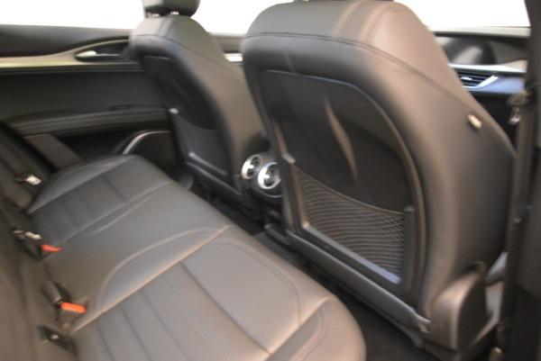 New 2019 Alfa Romeo Stelvio Ti Sport Q4 for sale Sold at Maserati of Westport in Westport CT 06880 22