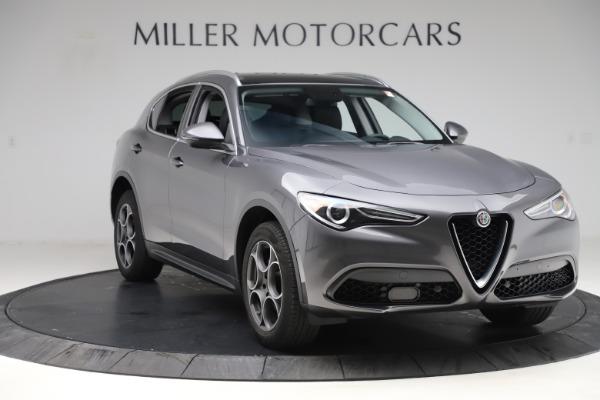 Used 2019 Alfa Romeo Stelvio Q4 for sale Sold at Maserati of Westport in Westport CT 06880 11