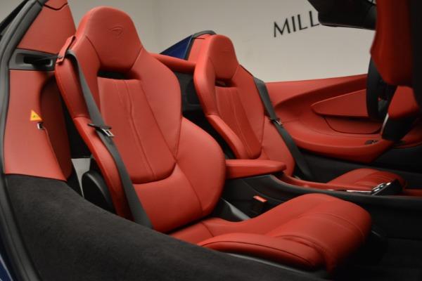 New 2019 McLaren 570S Spider Convertible for sale Sold at Maserati of Westport in Westport CT 06880 28