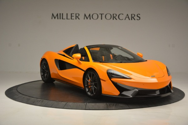 Used 2019 McLaren 570S Spider for sale $186,900 at Maserati of Westport in Westport CT 06880 11