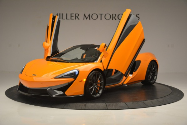 Used 2019 McLaren 570S Spider for sale Sold at Maserati of Westport in Westport CT 06880 14