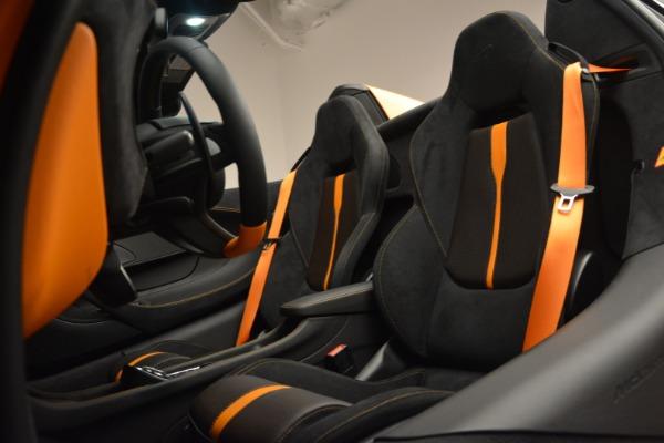 Used 2019 McLaren 570S SPIDER Convertible for sale $215,000 at Maserati of Westport in Westport CT 06880 25