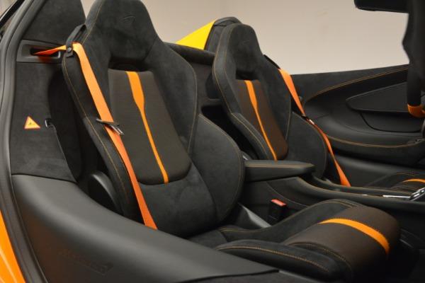 Used 2019 McLaren 570S SPIDER Convertible for sale $215,000 at Maserati of Westport in Westport CT 06880 28