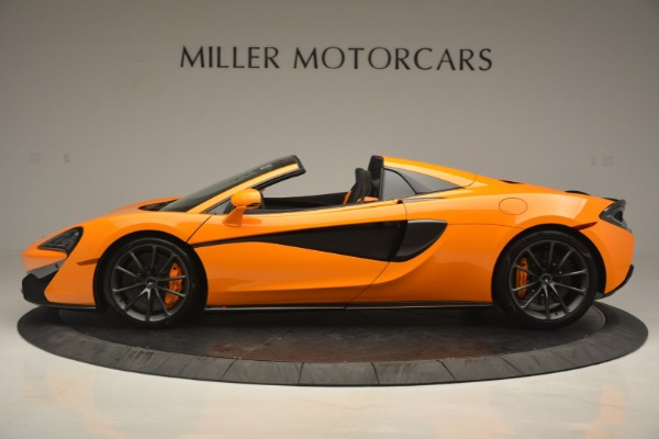 Used 2019 McLaren 570S Spider for sale Sold at Maserati of Westport in Westport CT 06880 3