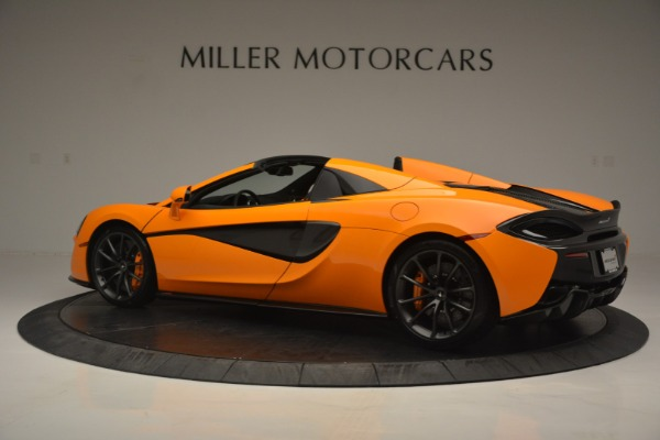 Used 2019 McLaren 570S Spider for sale Sold at Maserati of Westport in Westport CT 06880 4