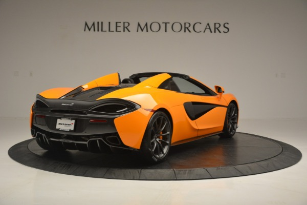 Used 2019 McLaren 570S Spider for sale Sold at Maserati of Westport in Westport CT 06880 7