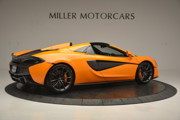 Used 2019 McLaren 570S Spider for sale Sold at Maserati of Westport in Westport CT 06880 8