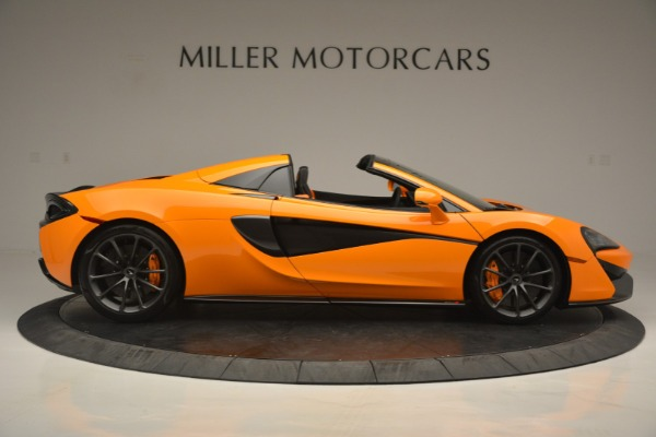 Used 2019 McLaren 570S Spider for sale Sold at Maserati of Westport in Westport CT 06880 9