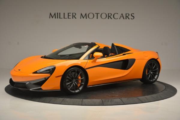 Used 2019 McLaren 570S SPIDER Convertible for sale $215,000 at Maserati of Westport in Westport CT 06880 1