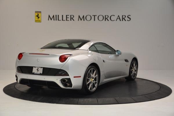 Used 2010 Ferrari California for sale Sold at Maserati of Westport in Westport CT 06880 19