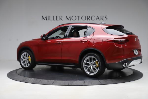 New 2019 Alfa Romeo Stelvio Ti Sport Q4 for sale Sold at Maserati of Westport in Westport CT 06880 4
