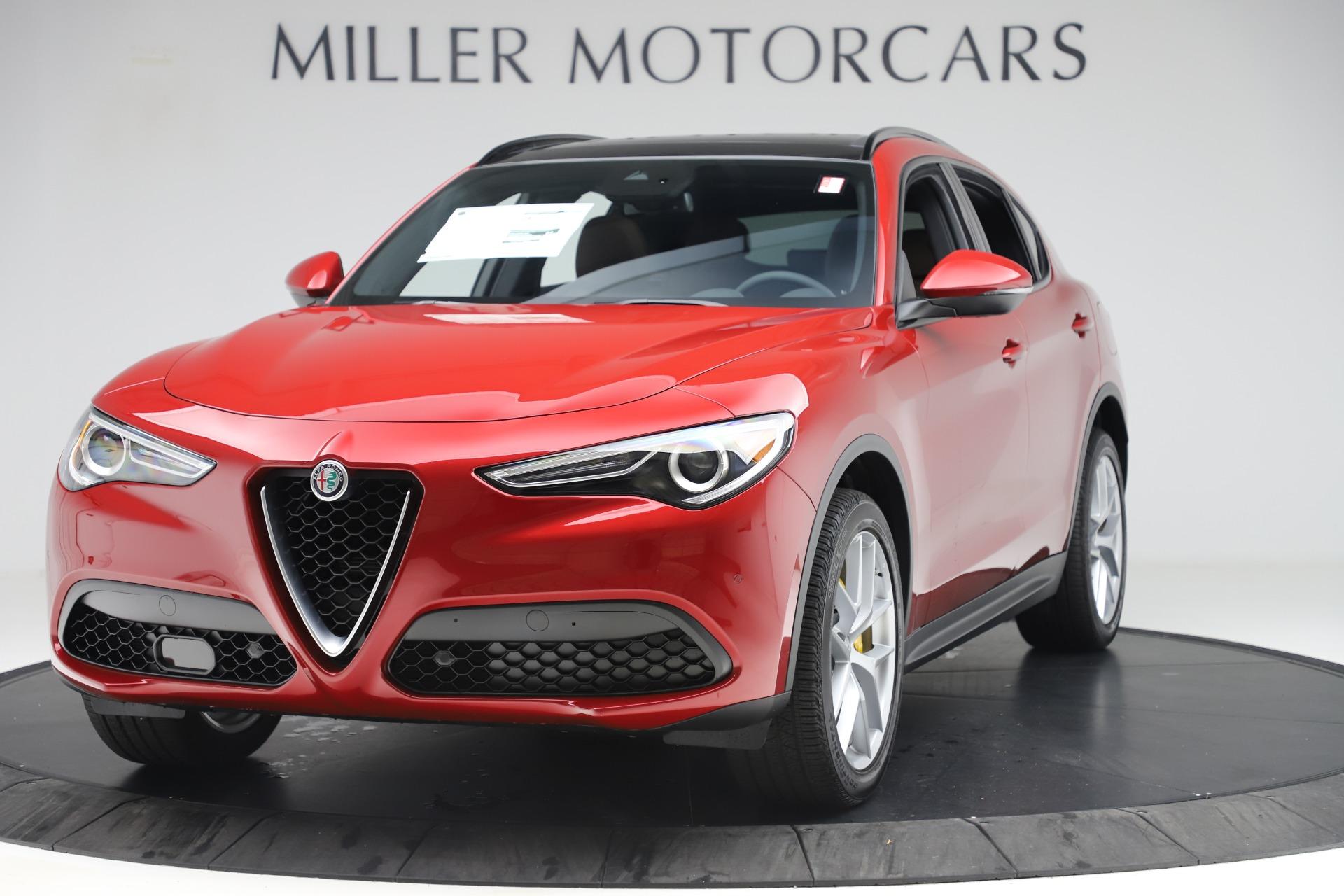 New 2019 Alfa Romeo Stelvio Ti Sport Q4 for sale Sold at Maserati of Westport in Westport CT 06880 1
