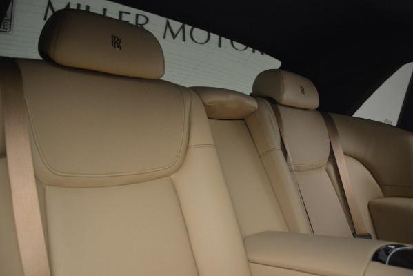 Used 2018 Rolls-Royce Ghost for sale Sold at Maserati of Westport in Westport CT 06880 28