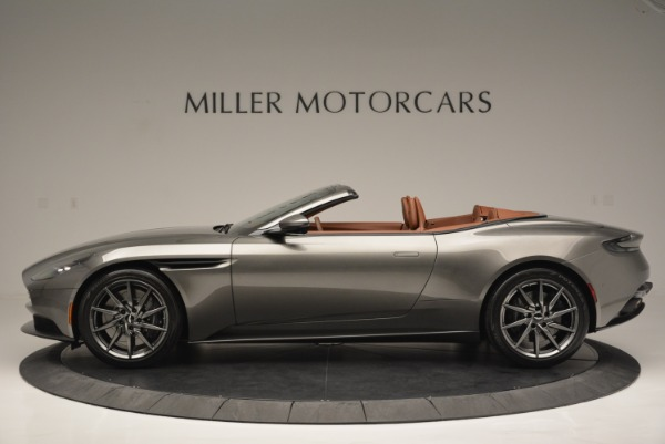 Used 2019 Aston Martin DB11 V8 Convertible for sale Sold at Maserati of Westport in Westport CT 06880 3