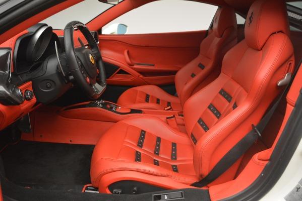 Used 2012 Ferrari 458 Italia for sale Sold at Maserati of Westport in Westport CT 06880 14
