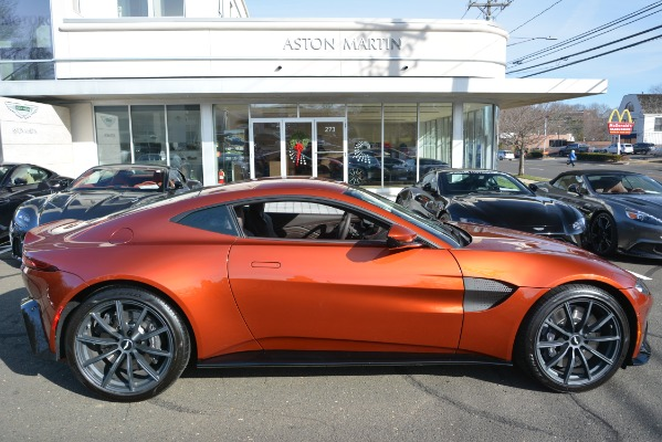 Used 2019 Aston Martin Vantage Coupe for sale Sold at Maserati of Westport in Westport CT 06880 22
