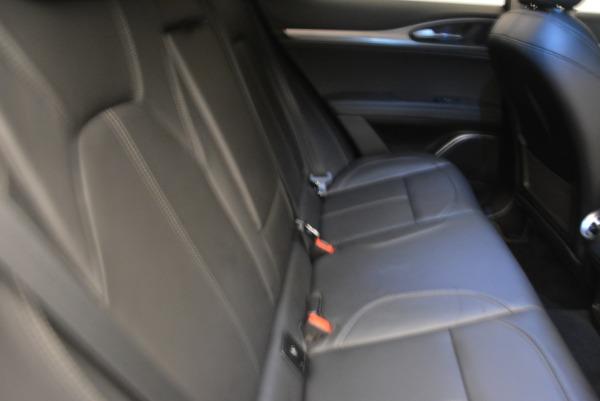 Used 2019 Alfa Romeo Stelvio Sport Q4 for sale Sold at Maserati of Westport in Westport CT 06880 12