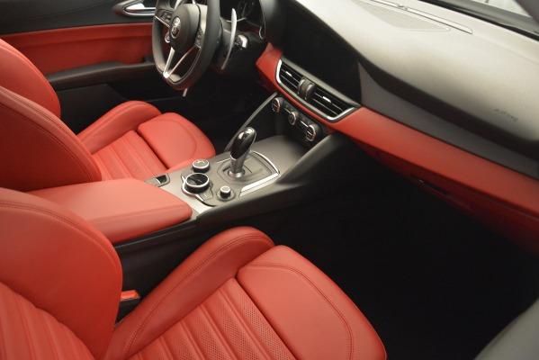 New 2019 Alfa Romeo Giulia Ti Sport Q4 for sale Sold at Maserati of Westport in Westport CT 06880 19