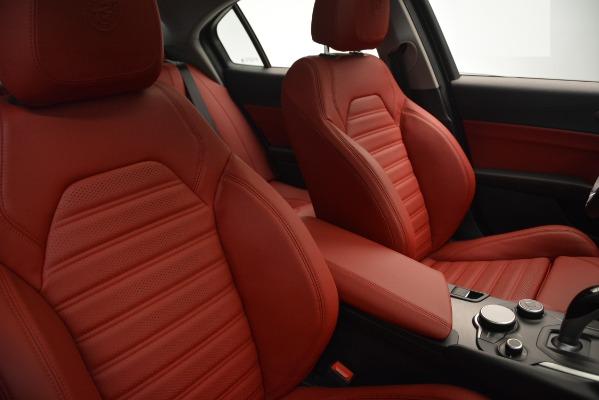 New 2019 Alfa Romeo Giulia Ti Sport Q4 for sale Sold at Maserati of Westport in Westport CT 06880 20