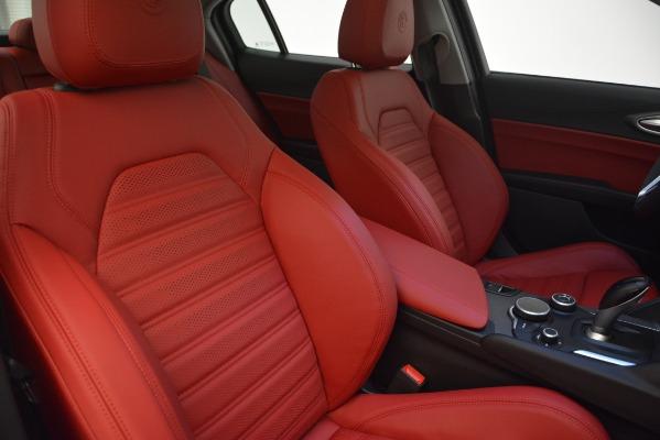 New 2019 Alfa Romeo Giulia Ti Sport Q4 for sale Sold at Maserati of Westport in Westport CT 06880 21