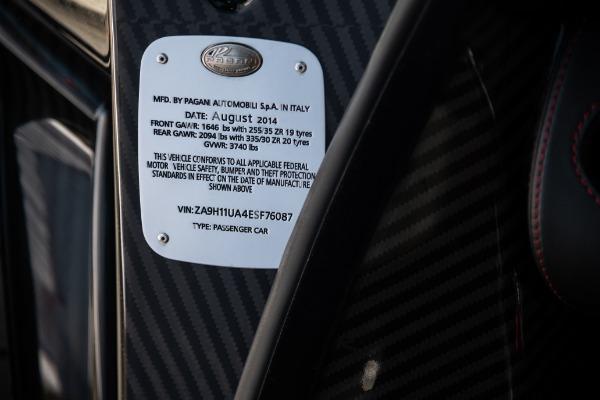 Used 2014 Pagani Huayra Tempesta for sale Sold at Maserati of Westport in Westport CT 06880 25