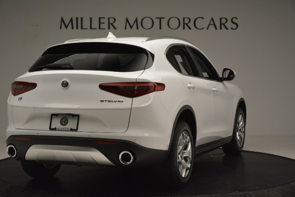 New 2019 Alfa Romeo Stelvio Q4 for sale Sold at Maserati of Westport in Westport CT 06880 7
