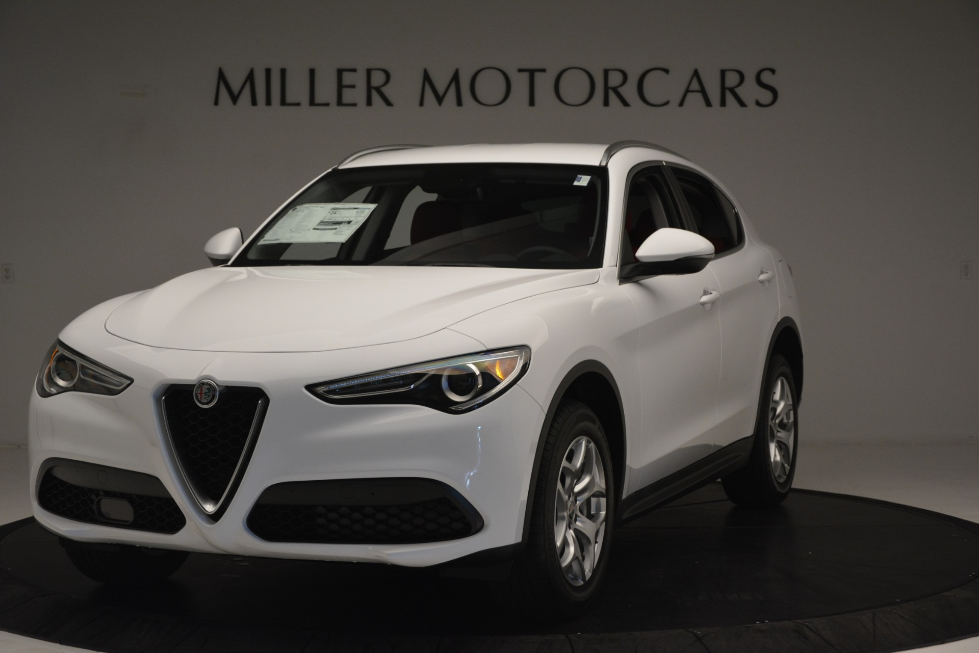 New 2019 Alfa Romeo Stelvio Q4 for sale Sold at Maserati of Westport in Westport CT 06880 1