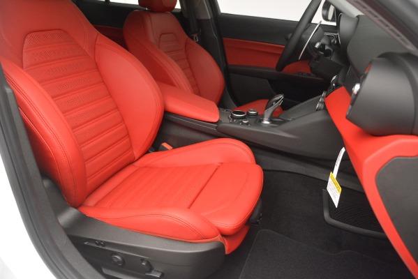 New 2019 Alfa Romeo Giulia Ti Sport Q4 for sale Sold at Maserati of Westport in Westport CT 06880 24