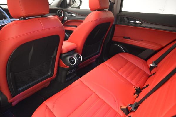 New 2019 Alfa Romeo Stelvio Ti Lusso Q4 for sale Sold at Maserati of Westport in Westport CT 06880 18