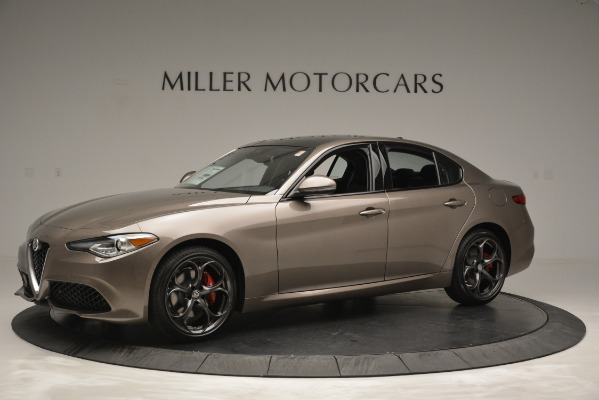 New 2019 Alfa Romeo Giulia Ti Sport Q4 for sale Sold at Maserati of Westport in Westport CT 06880 2