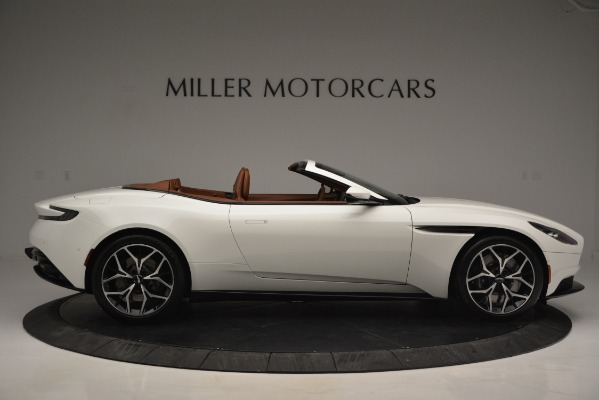 Used 2019 Aston Martin DB11 V8 Convertible for sale Sold at Maserati of Westport in Westport CT 06880 9