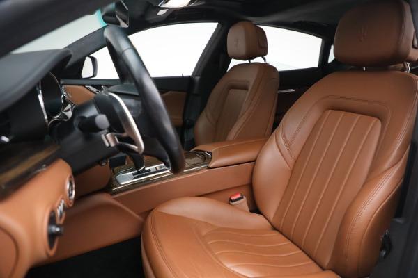 Used 2015 Maserati Quattroporte S Q4 for sale $42,900 at Maserati of Westport in Westport CT 06880 13