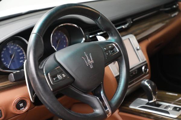 Used 2015 Maserati Quattroporte S Q4 for sale $42,900 at Maserati of Westport in Westport CT 06880 23