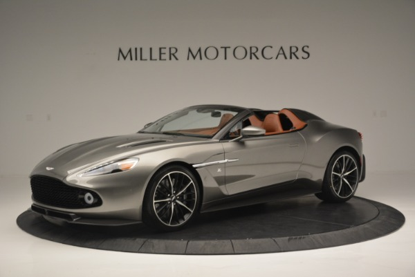 Used 2018 Aston Martin Zagato Speedster Convertible for sale Sold at Maserati of Westport in Westport CT 06880 1