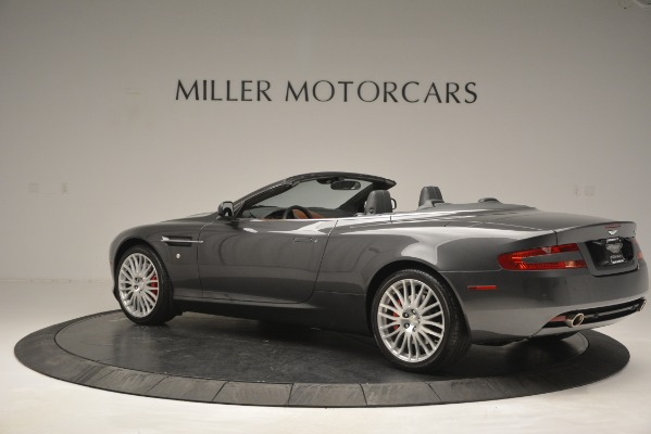 Used 2009 Aston Martin DB9 Convertible for sale Sold at Maserati of Westport in Westport CT 06880 4