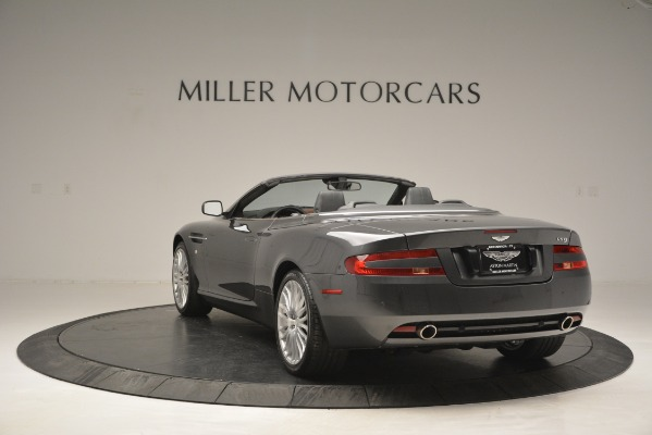 Used 2009 Aston Martin DB9 Convertible for sale Sold at Maserati of Westport in Westport CT 06880 5