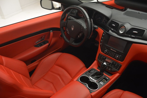 Used 2017 Maserati GranTurismo Sport for sale Sold at Maserati of Westport in Westport CT 06880 27