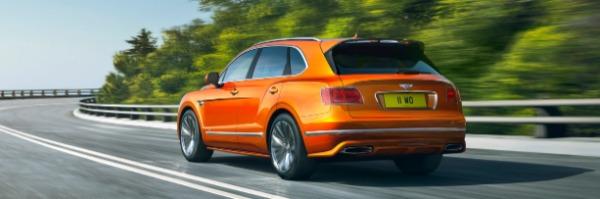 New 2020 Bentley Bentayga Speed for sale Sold at Maserati of Westport in Westport CT 06880 3