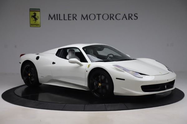 Used 2015 Ferrari 458 Spider for sale Call for price at Maserati of Westport in Westport CT 06880 16